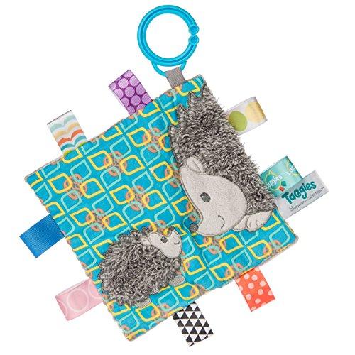 Mary Meyer 40201Taggies Crinkle me Baby Spielzeug, Heather Igel