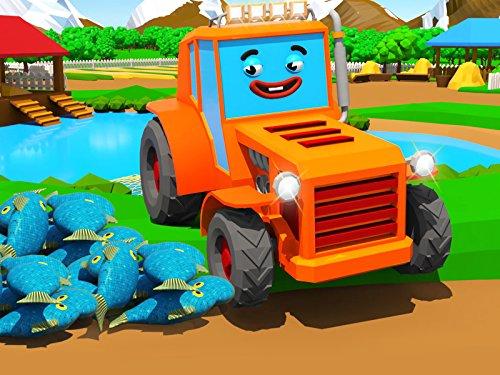 Orange Tractor is fishing today