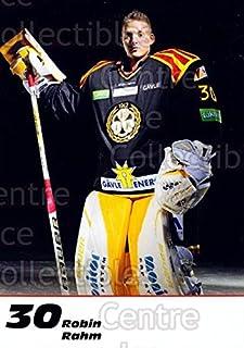 (CI) Robin Rahm Hockey Card 2013-14 Swedish Brynas IF Tigers Postcards 18 Robin Rahm