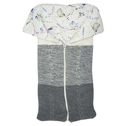 Saco de dormir para cochecito de bebé recién nacido Sacos de dormir Invierno Cálido Saco de dormir Sobre Envoltura al aire libre Manta tejida A