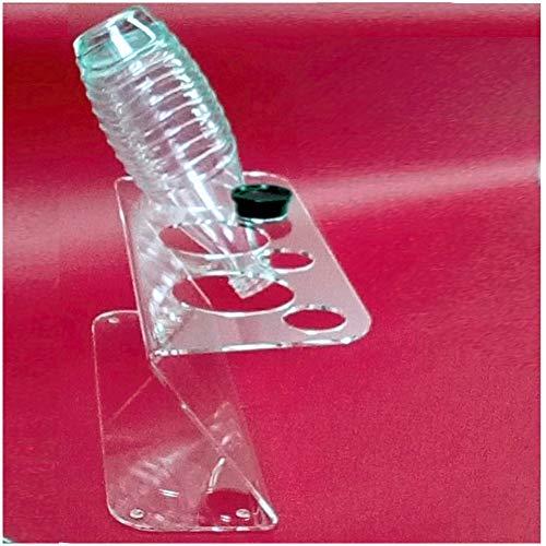 Abtropf-gestell und Flaschen-ständer . Zubehör für 3 Sodastream-karaffen für z.B. Soda-stream Crystal Source Easy Cool Abtropfgestell Trockenständer Abtropfständer aus Acryl. Einführungs-Angebot !