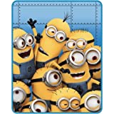 Despicable Me Minion Made Silky Soft and Cuddly Throw 40 X 50 Inch
