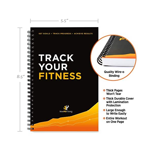 fitness nutrition Workout/Fitness and/or Nutrition Journal/Planners – Designed by Experts, w/Illustrations