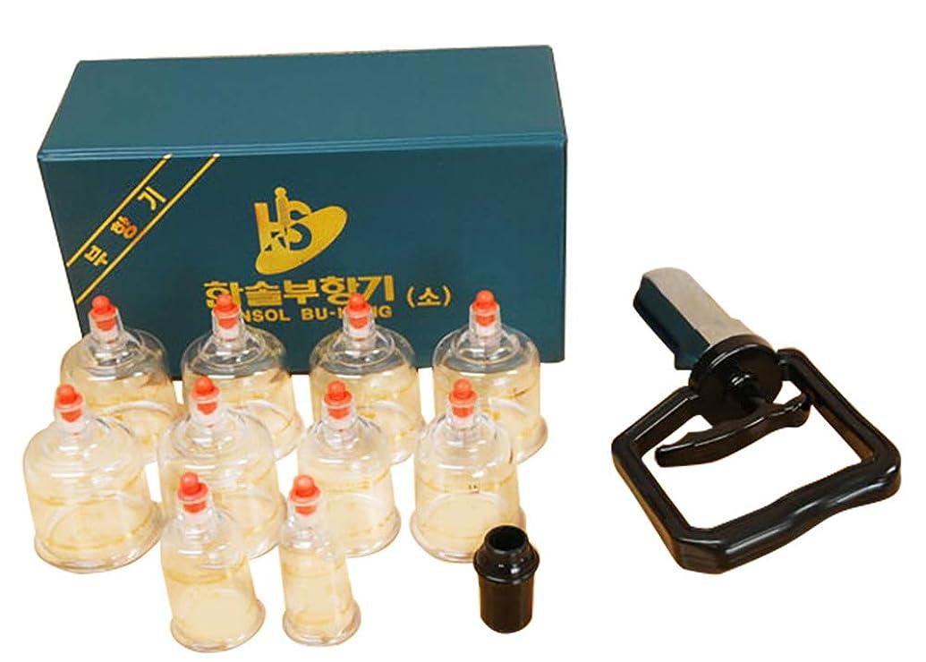 疑問を超えて組特別に中国四千年の健康法「吸玉」がご家庭で手軽にできる!ハンソルメディカル ブハン カッピングカップ10個セット