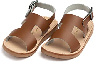 Concord Little Girl Boy Leather Sandals - Toddler/Little Kid Sizes 3-13 - Multiple Colors