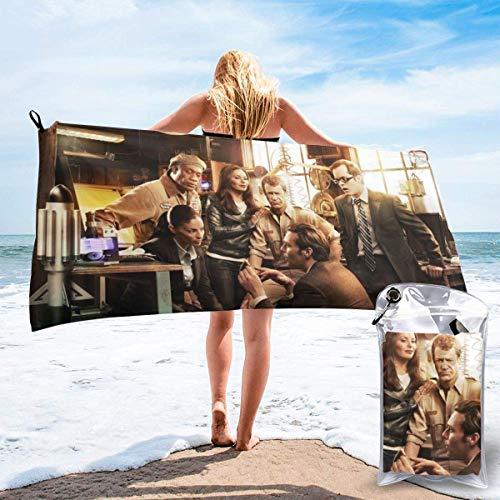 chenjian Eureka - Toalla de baño de secado rápido, suave, para viajes, camping, gimnasio, piscina, sillas de playa
