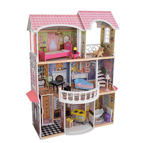 KidKraft-  Magnolia Mansion Casa de muñecas de madera con