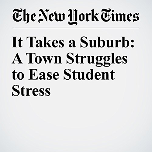 It Takes a Suburb: A Town Struggles to Ease Student Stress copertina
