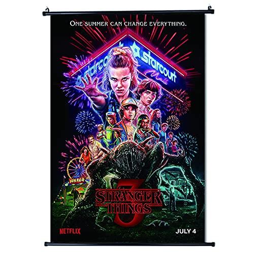 Stranger Things Poster de défilement Format 30 x 45 cm