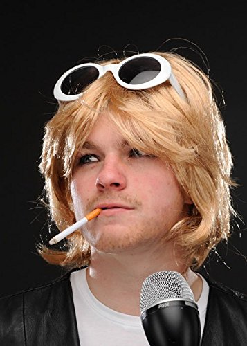 Magic Box Int. Grunge-Typ Kurt Cobain Style Accessory Kit mit Perücke