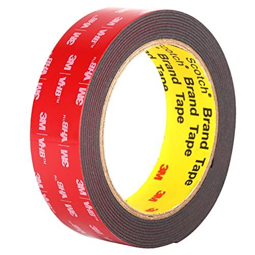 Double Sided Tape, 3M Heavy Duty Mounting Tape, Waterproof VHB Foam Tape, for...