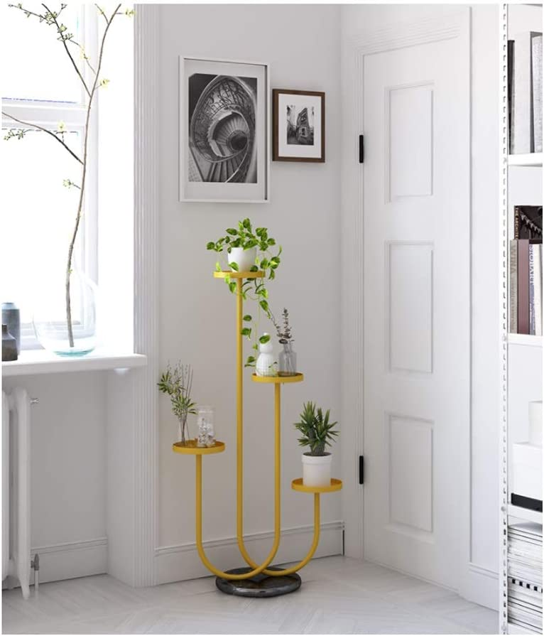 Nordic Flower Frame Wrought Iron All items free shipping All items free shipping L Rack Multi-Layer Shelf