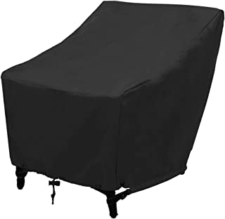 DIYARTS Outdoor Patio Seat Cover, 210D Oxford Cloth Leisure Deep Seat Cover Furniture Cover Outdoor Cover Durable Waterproof Outdoor Furniture Seat Cover