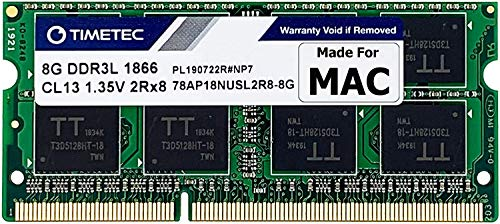 Timetec Hynix IC 8GB DDR3 PC3-14900 1866MHz compatible with