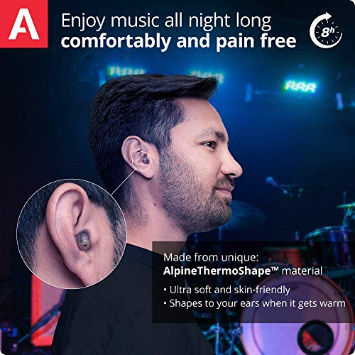 Alpine MusicSafe Pro Gehörschutz Ohrstöpsel für Musiker - 4