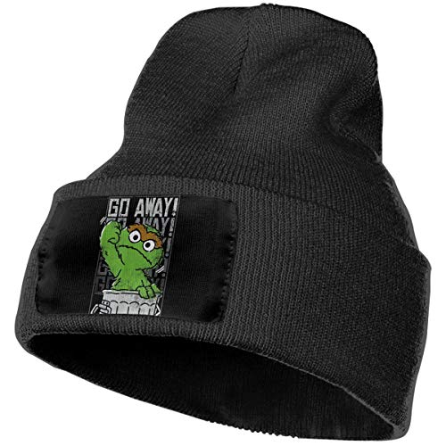 Hkdfjg Oscar The Grouch Beanie Hat Winter Solid Color Warm Knit