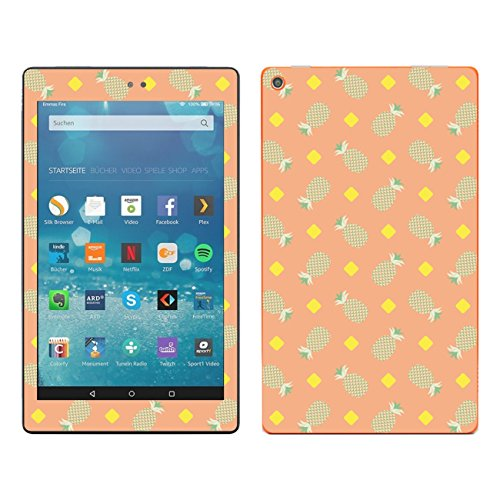 'Disagu SF 107800_ 1142Protective Skins Case Cover For Amazon Fire HD 8Inch (2016)–Pineapple 04klar