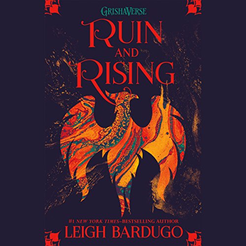 Ruin and Rising audiobook cover art
