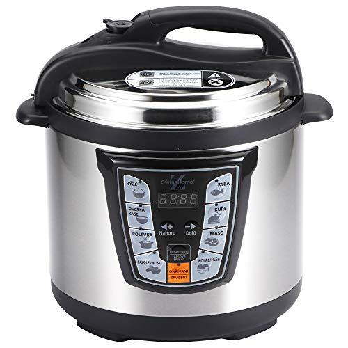 MasterPro Foodies Q3308 Olla presión eléctrica 6l 1000w