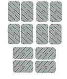 Healthcare World Electrodos Para TENS EMS Electroterapia Grande TENS Electrodos x 12 Encaja Beurer Sanitas EM40 EM41 EM80