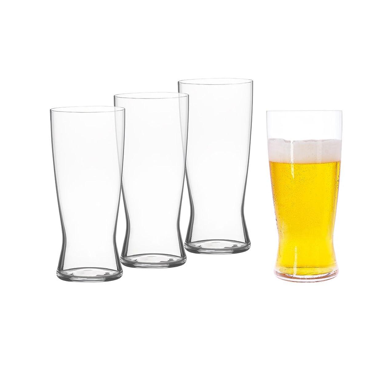 核嫌い解放するシュピゲラウ(Spiegelau) ビールクラシックス ラガービアグラス 560ml  4991971 4個入