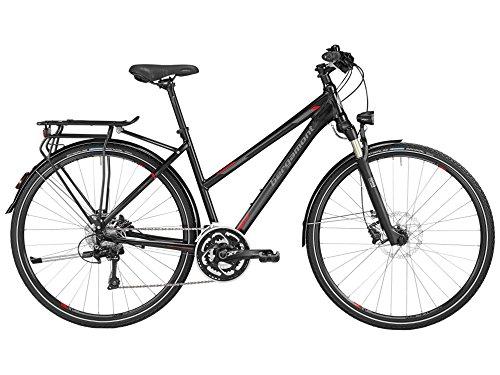 Bergamont Horizon 9.0 Damen Trekking Fahrrad schwarz/grau/rot 2016: Größe: 44cm (158-164cm)