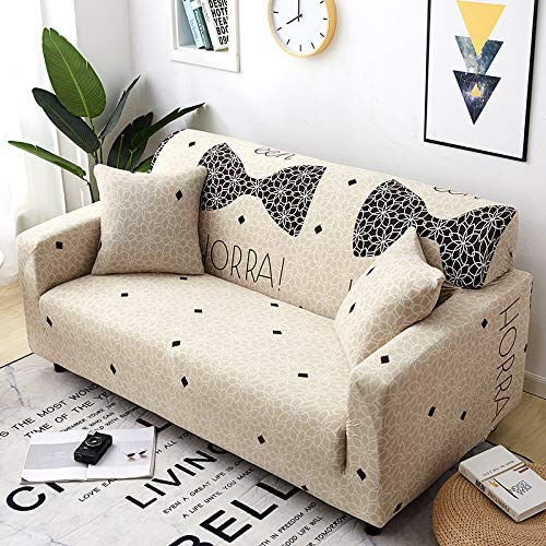 NOBCE Geometric Elastic Sofa Cover For Living Room Modern Sectional Corner Sofa Slipcover Couch Cover Chair Protector 1/2/3/4 Seater 190-230CM