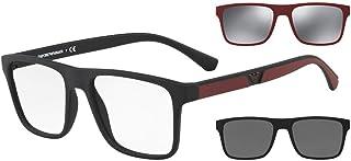 نظارات شمسية من امبوريو ارماني EA 4115 F 50421W لون اسود مطفي