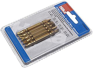 Hilka 37950505 65 mm titanbelagd skruvmejsel bitsats, set med 5 delar