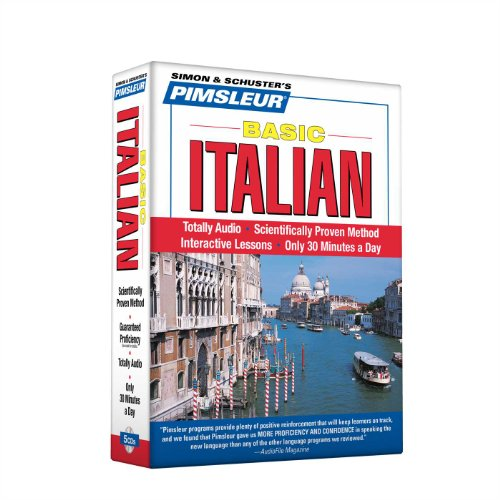 Pimsleur Italian Basic Course - Level 1 Lessons 1-10 CD: Learn to Speak and Understand Italian with Pimsleur Language Programs (1)