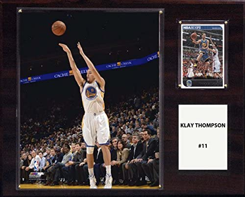 NBA Golden State Warriors Klay Thompson Player Plaque 12 x 15 Inch product image