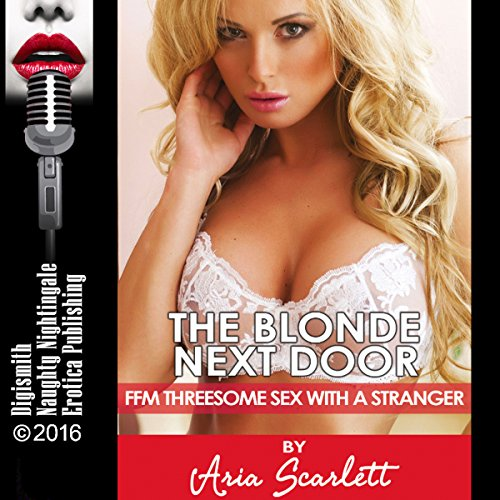The Blonde Next Door audiobook cover art
