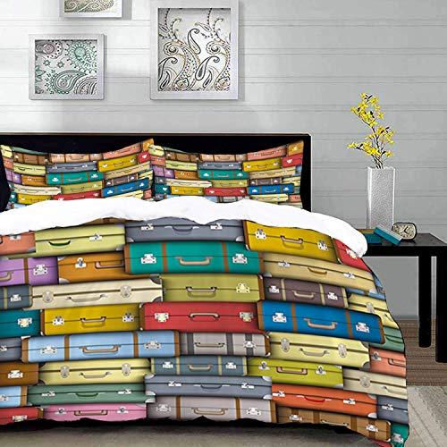 parure de lit adulte,housse de couette,Moderne,valises...