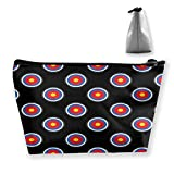 Archery Target Cosmetic Bag Cosmetic Case Toiletry Bag Travel Case Makeup Bag Organizer For Women Travel Gifts