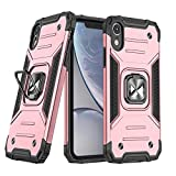 WOZINSKY Ring Armor - Custodia rigida per iPhone XR