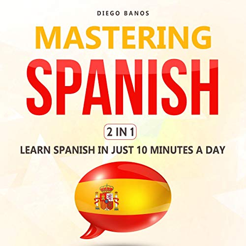 Mastering Spanish 2 in 1 audiobook cover art