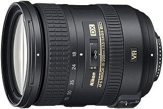 Nikon JAA813DA Af-S Dx Nikkor 18-200 mm, Svart