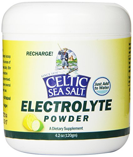 Celtic Sea Salt Electrolyte Powder Drink Mix, 4.2 Ounce