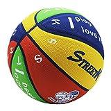 Balón de baloncesto para niños, tamaño 5, entrenamiento para niños, para principiantes y para el tiempo libre, para interiores y exteriores, varios colores