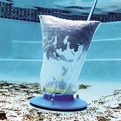 iMucci Pool Cleaner Swimming Pool Sucker Mesh Bag Leaf Vacuum Underwater Cleaner