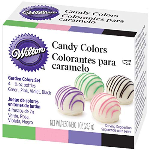 Wilton Candy Decorating Primary Colors Set 1 oz