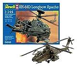 Revell-AH-64D Longbow Apache Helicopter, Kit de Modelo, Escala 1:144 (4046) (04046), 10,5 cm