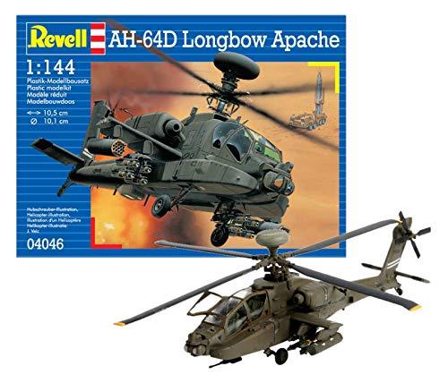 ドイツレベル 1/144 AH-64D ロングボウ アパッチ 04046 プラモデル