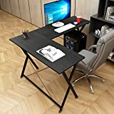 soges Bureau Informatique Coin Bureau d'angle d'ordinateur, Table en Forme de L avec...