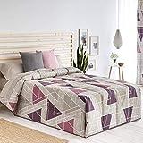 Confecciones Paula - Edredón conforter Vigo - Cama 135Cm - Color Rosa