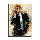 Kunstdruck auf Leinwand, Motiv Justin Timberlake