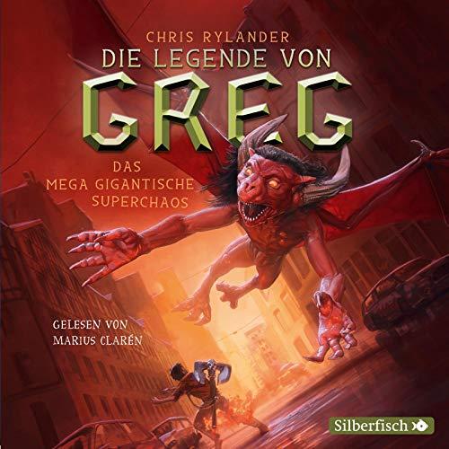 Die Legende von Greg 2: Das mega gigantische Superchaos: 5 CDs (2)