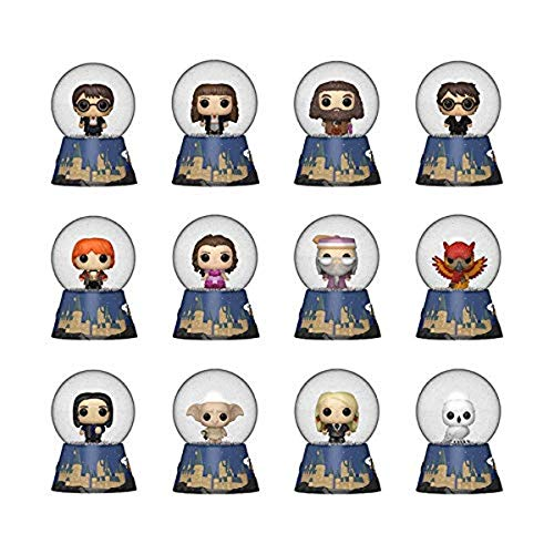 Funko- Mystery Mini: Harry Potter Snow Globes (Styles Vary) Figura Coleccionable, Multicolor (50814)