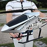 YAMMY Control Remoto de Radio súper Grande 3.5 Canales 2.4GHZ Gyro RC Helicóptero LED Interior Exterior helicóptero Estable EAS (Coche Inteligente)