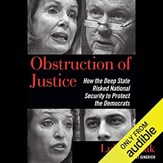 Obstruction of Justice audiobook cover art